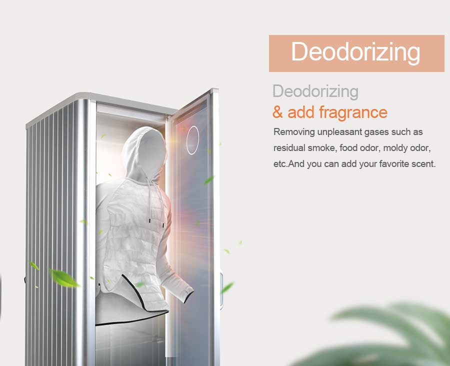 clothes dryer with Deodorant